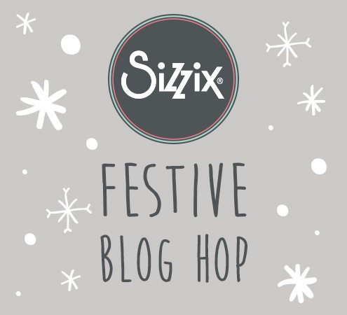 Sizzix Festive Blog Hop: Day 3 Repurposed Wrapping Paper Gift Tags