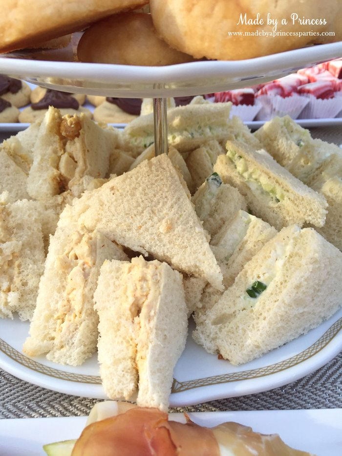 downton abbey cpwm cookie exchange tea sandwiches
