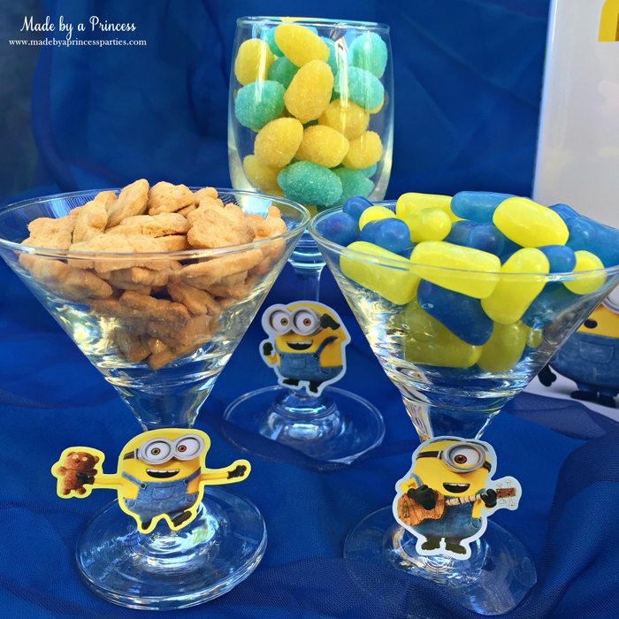 minions movie night lava mocktail snacks