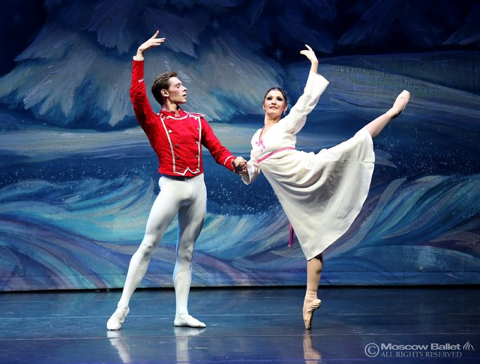 Captured by the Moscow Ballet Nutcracker