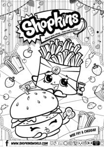 photograph regarding Shopkins Season 3 List Printable called Shopkins No cost Downloads