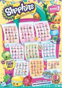 image relating to Printable Shopkins List titled Shopkins No cost Downloads