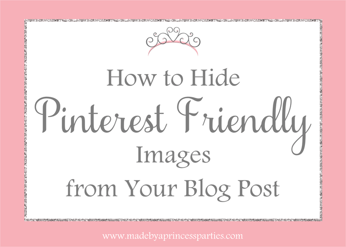 hide pinterest friendly images