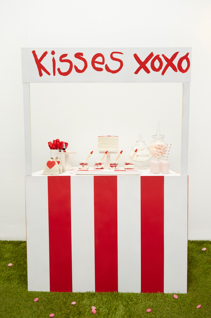 Kissing Booth Valentines Day Party booth