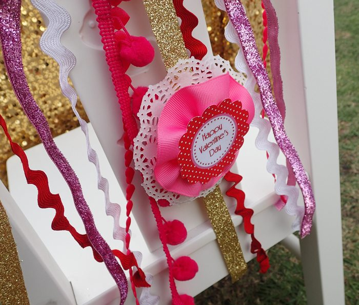 Sweet Party for Sweet Girls ribbon banner