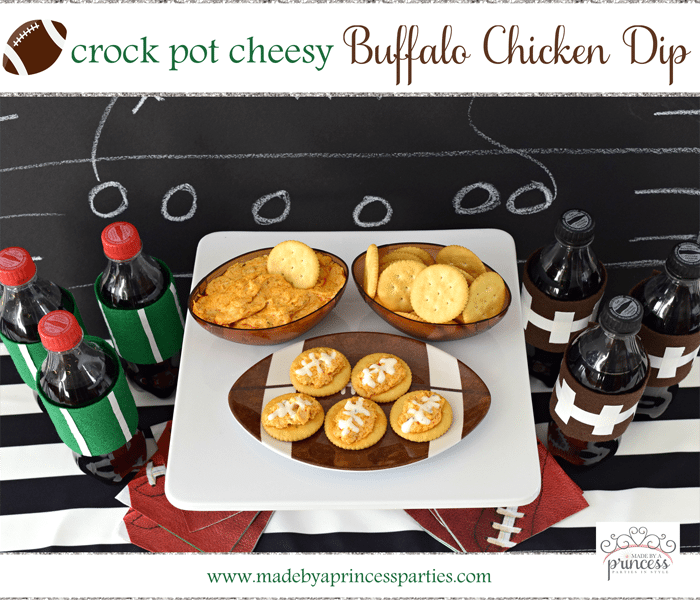 CrockPot Cheesy Buffalo Chicken Dip Recipe