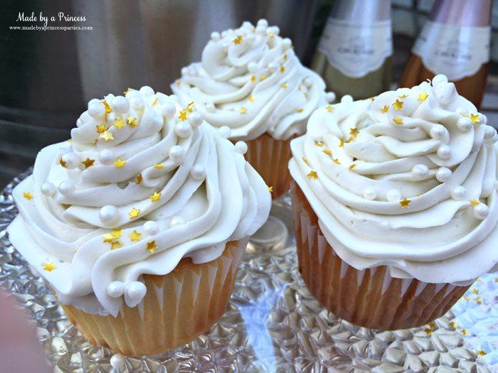 sparkling champagne cupcakes trio 2