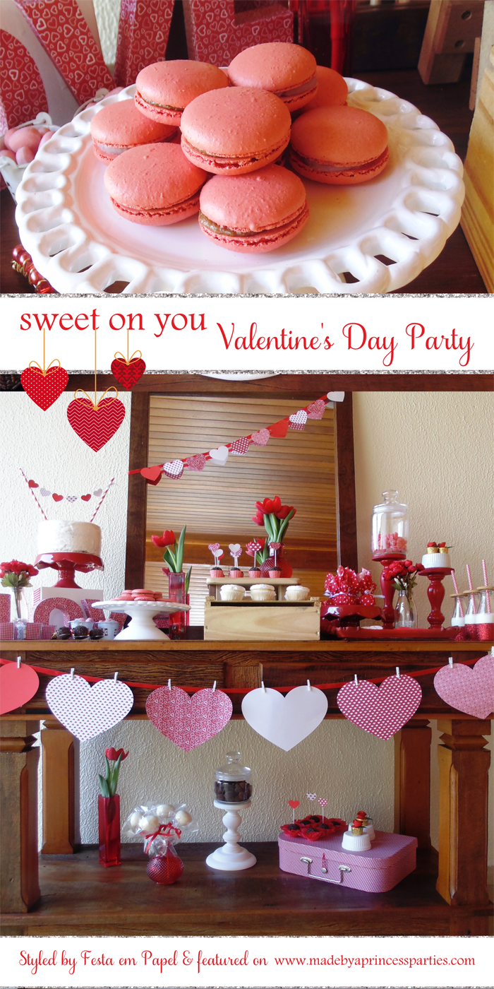sweet on you valentine party pin it