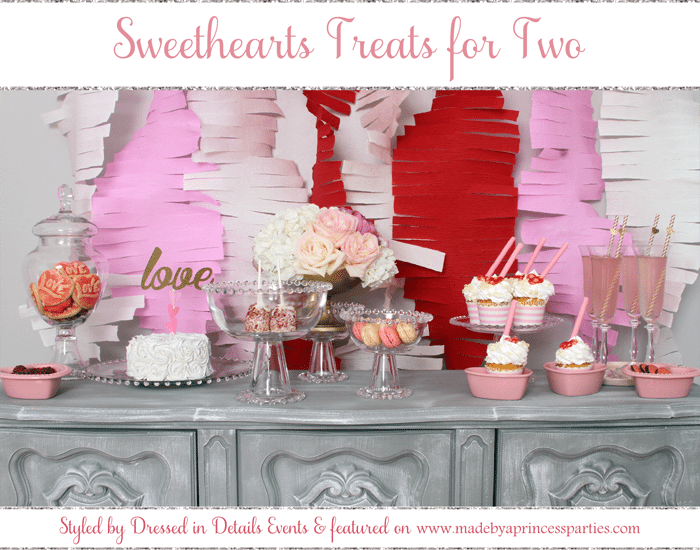 sweethearts treats for two