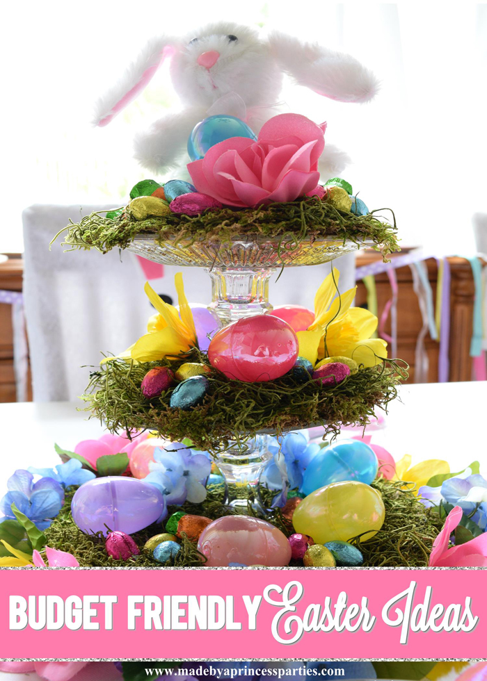 Budget Friendly Easter Ideas for your Easter table