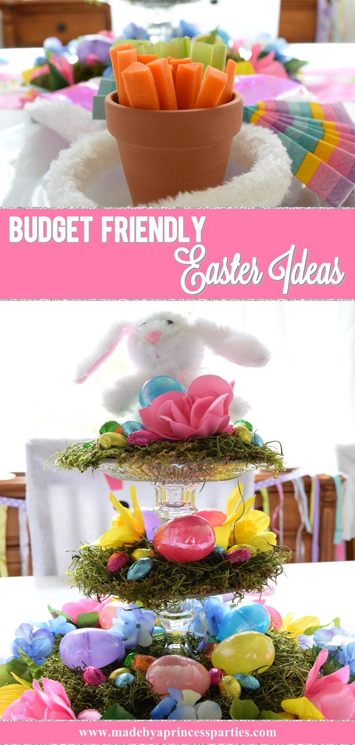 Budget Friendly Easter Ideas you can create in no time