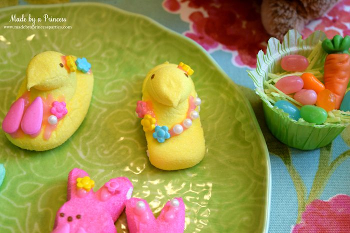 Easy Easter Entertaining Ideas marshmallow chicks