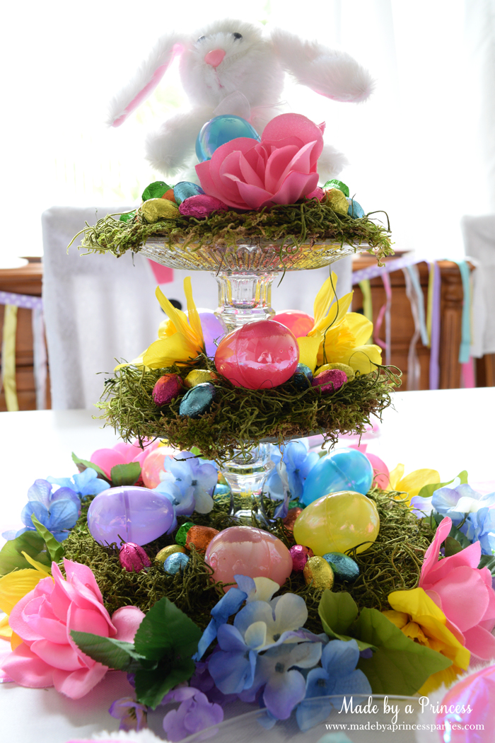 budget friendly easter ideas centerpiece