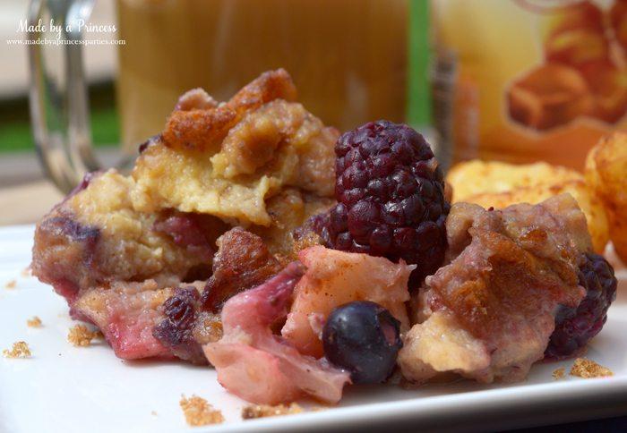 seasonal fruit bread pudding recipe 4