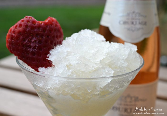 sparkling champagne granita sparkling champagne granita with honey recipe