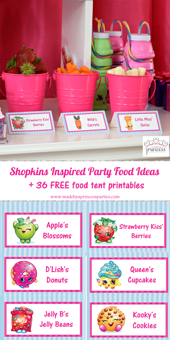shopkins inspired party food tents free printables pin it