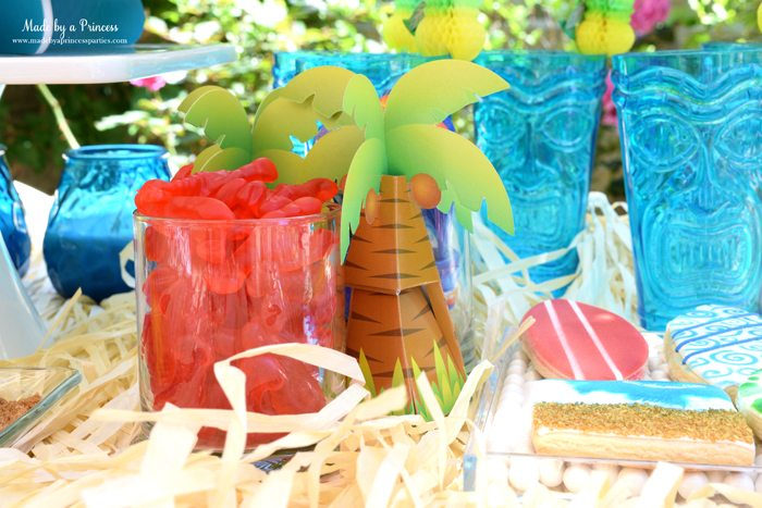 surfs up graduation party with evite lobster gummies