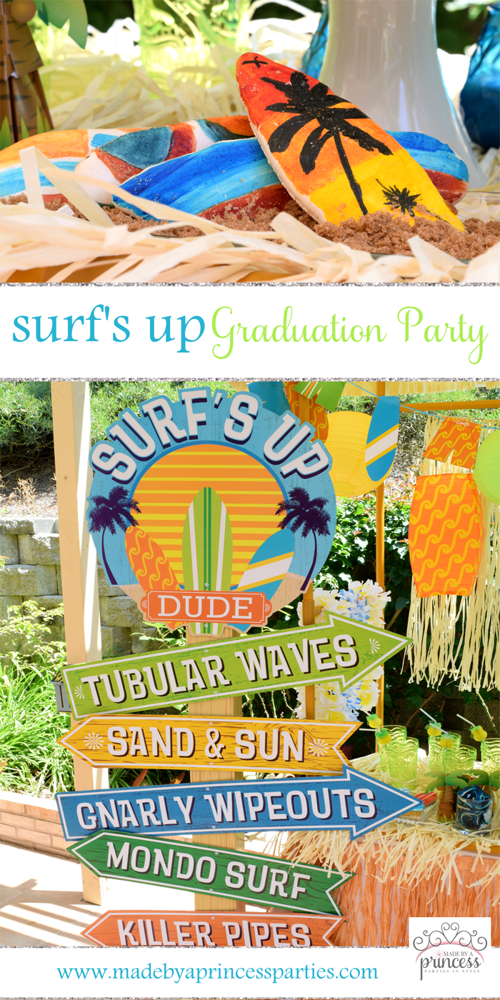 surfs up graduation party with evite pin it
