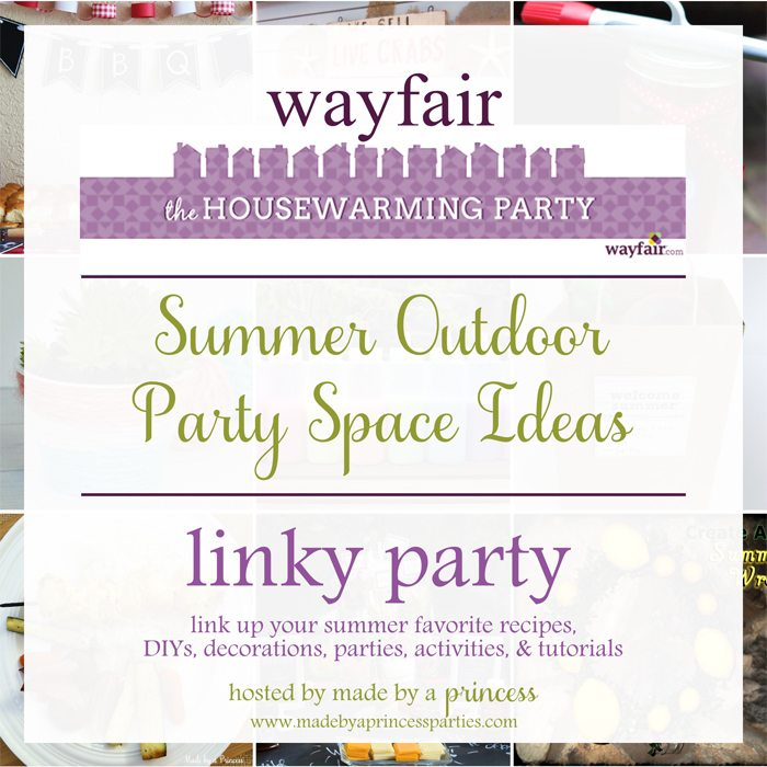 wayfair Housewarming party outdoor party spaces sq