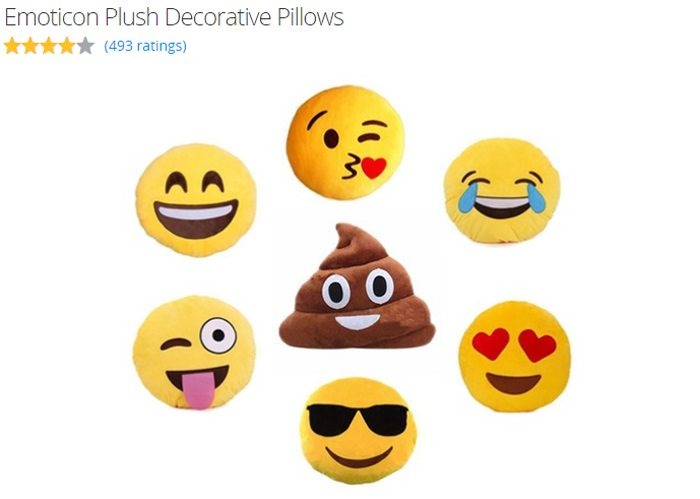 back to school beddding with groupon emoticon pillows