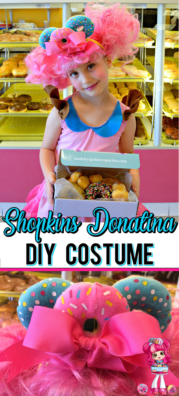 Follow these steps to create your own Shopkins Doll Costume just like Donatina