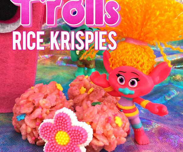 Trolls Movie Food Princess Poppy Popcorn Box