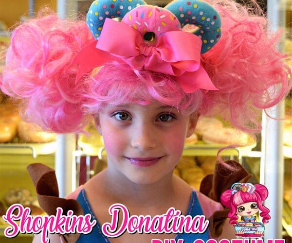 DIY Shopkins Doll Costume Donatina