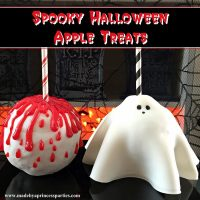 Yummy Spooky Halloween Apple Treats