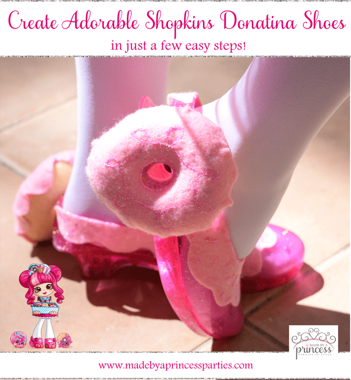 Create Adorable Shopkins Shoppie Halloween Costume Shoes