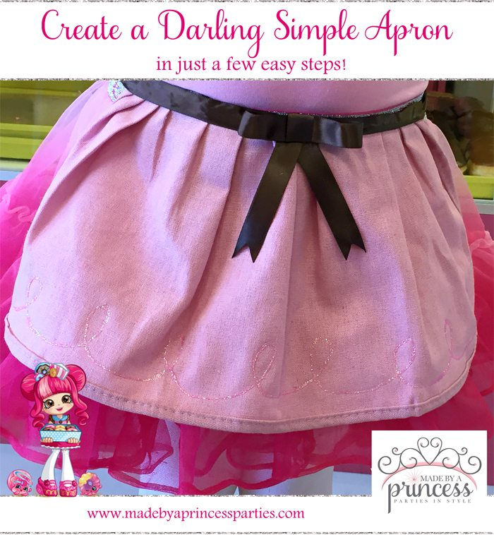 Create Darling Simple Apron Halloween Costume