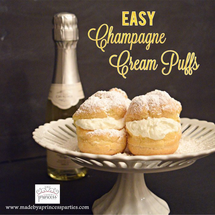 Easy Champagne Cream Puffs Recipe