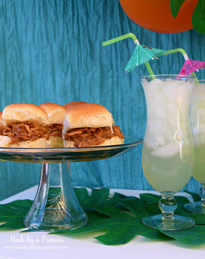 disney-moana-movie-inspired-party-guava-chicken-sandwiches-with-coconut-cooler