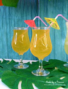 Disney Moana Movie Inspired Party Maui Mango Moscato Champagne Sparkler for Two