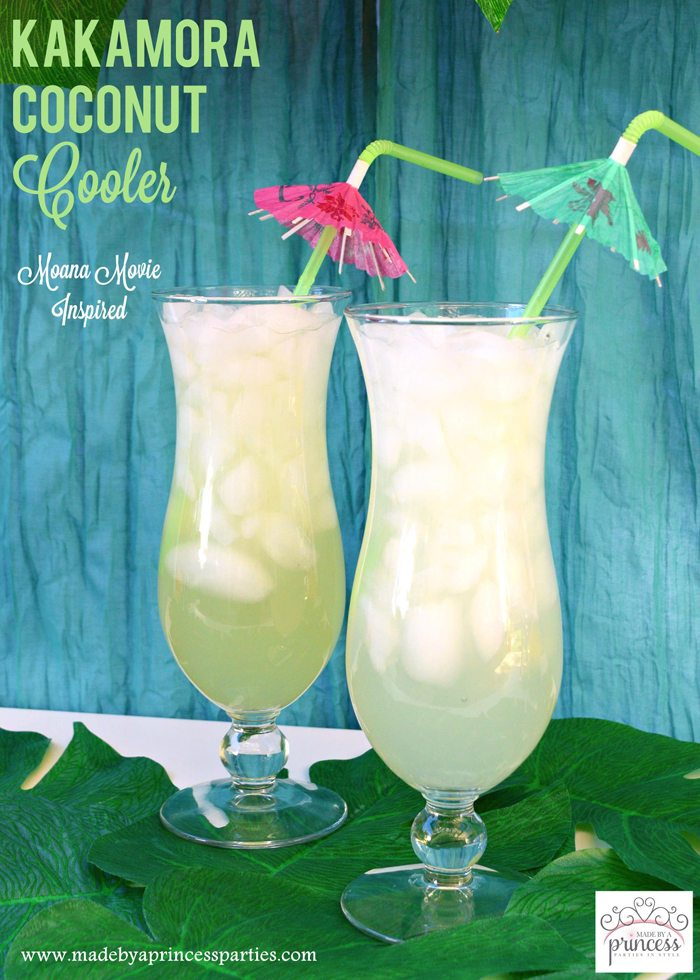 kakamora coconut cooler perfect for a tropical luau party