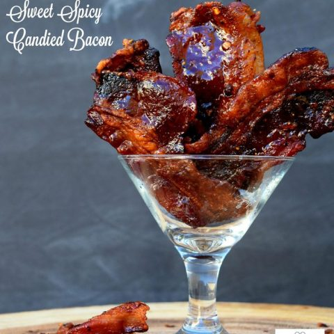 Man Candy Sweet Spicy Candied Bacon Recipe