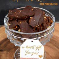 Dark Chocolate English Toffee Recipe