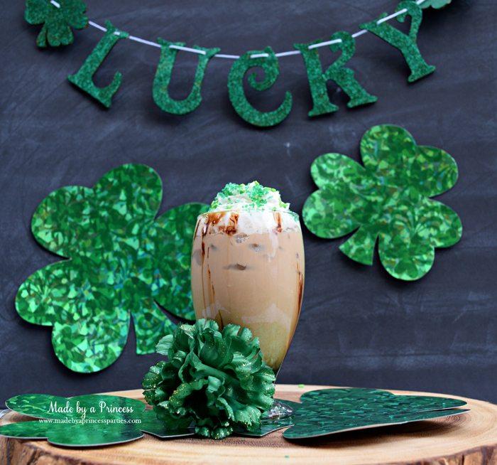 mcdonalds-copycat-shamrock-mocha-recipe-glitter-lucky-banner-decoration-and-shamrocks