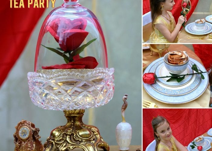 Beauty and the Beast Movie Tea Party for Two