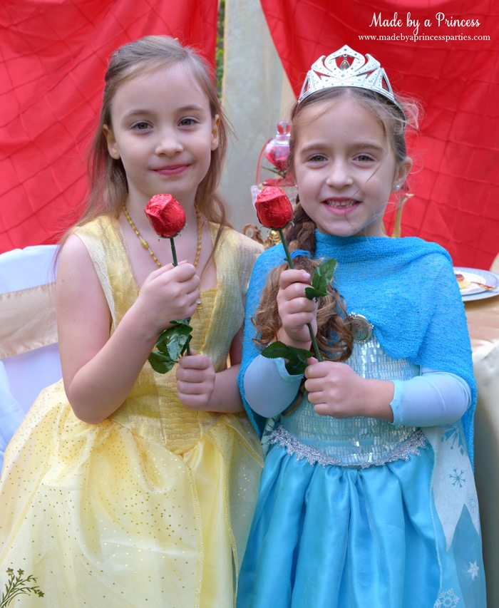 BEAUTY AND THE BEAST Themed Tea Party for Two