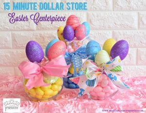 Creative Dollar Store Easter Centerpiece Tutorial