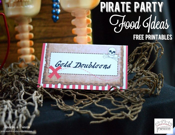 pirate party food free printables