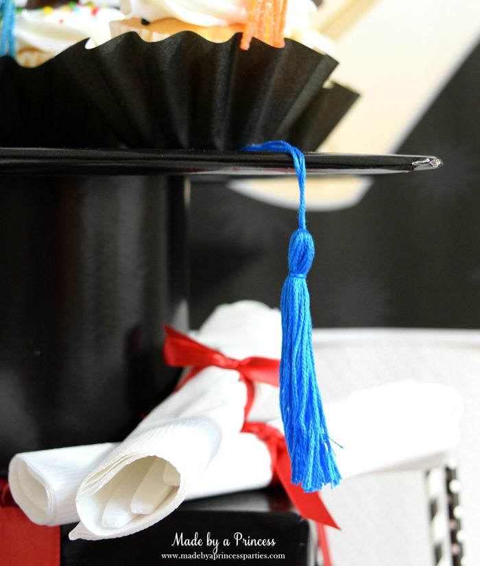 Easy Graduation Party Ideas graduation tassel