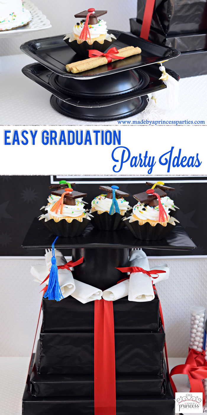 Easy Graduation Party Ideas pin it