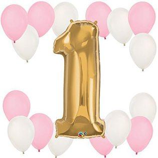 First Birthday balloon kit