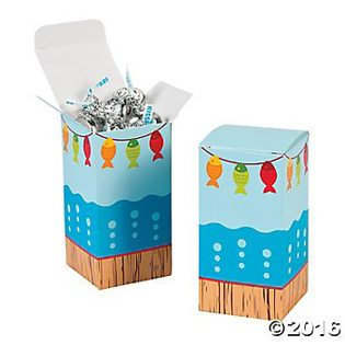Fishing Baby Shower Ideas favor boxes