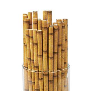 Moana Party Ideas bamboo straws
