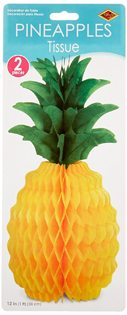 Moana Party Ideas pineapple tissue 2