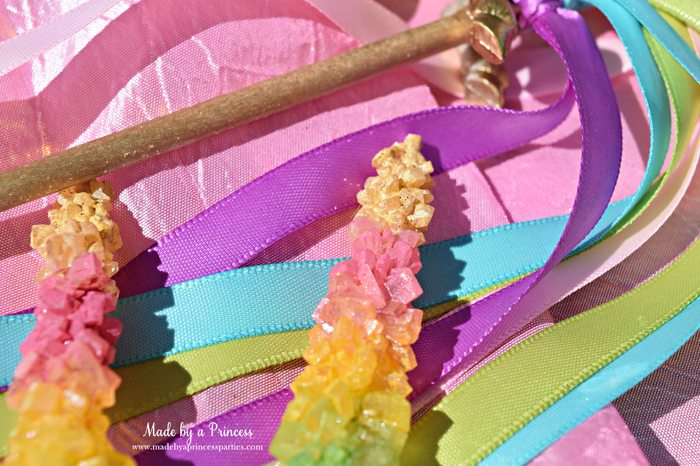 original rainbow rock candy party food tutorial gold tipped unicorn horn perfect for a unicorn party