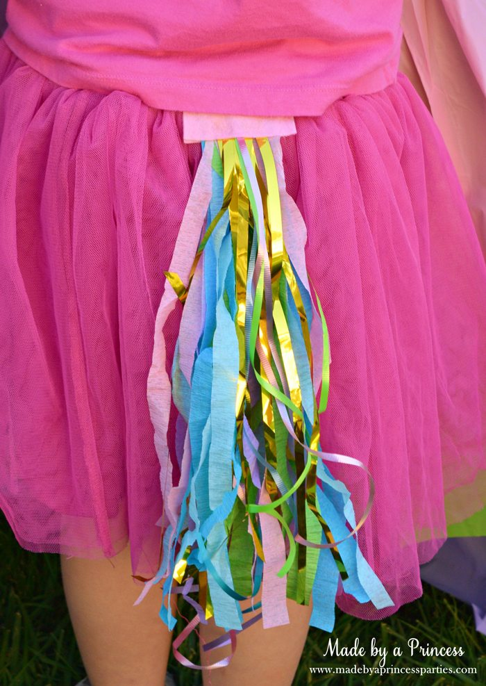 unicorn tail party idea tutorial pretty pony tail