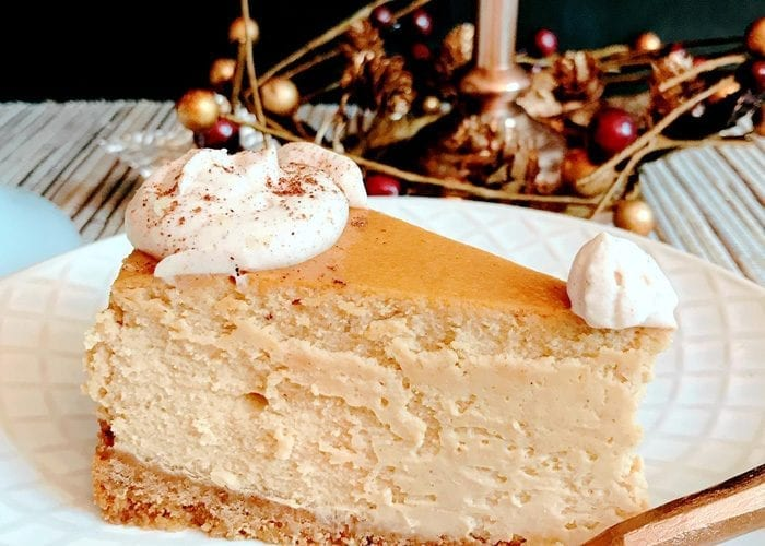 Gingerbread Cheesecake Dessert Recipe